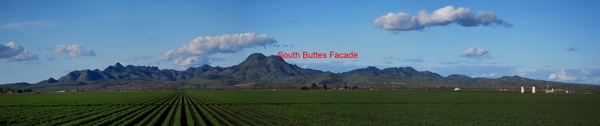 South Buttes Location