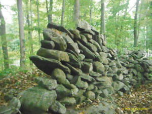 Eastern US stone line photo by Tim MacSweeny